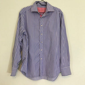 Robert Graham mens button front shirt